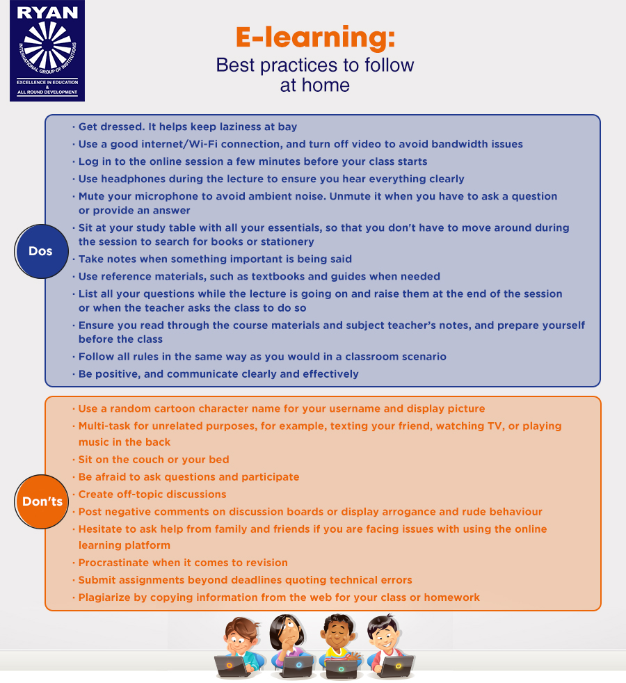 E-learning dos and don'ts