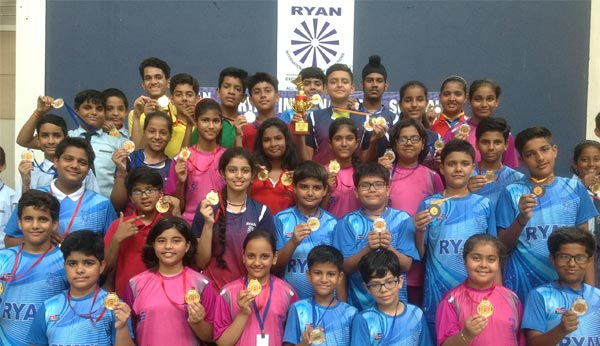Students won 48 medals in Badminton