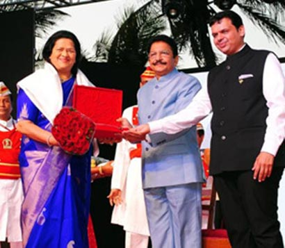 Madam Grace Pinto MD Ryan Group felicitated for her commendable contribution in education