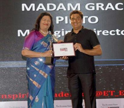 Inspiring Business Leader of India Award by Economic Times