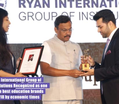 Best Education Brands of 2018 Award by Economic Times