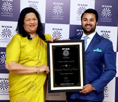 Ryan International School, Greater Noida recognized as one of the 'Leading Schools of India