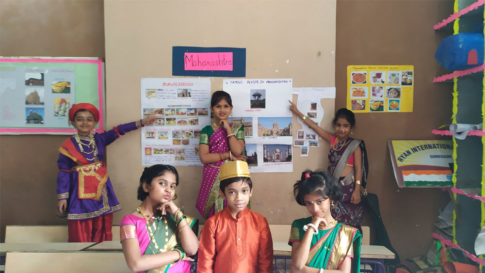 The theme of World Tourism day is 'Tourism and Jobs – A better future for all.' - Ryan International School, Goregaon East