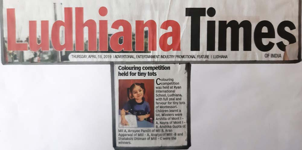 Colouring Competition - Ludhiana Times