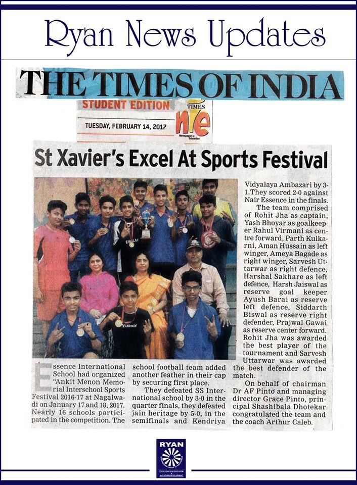 Interschool Sports festival 2016-17