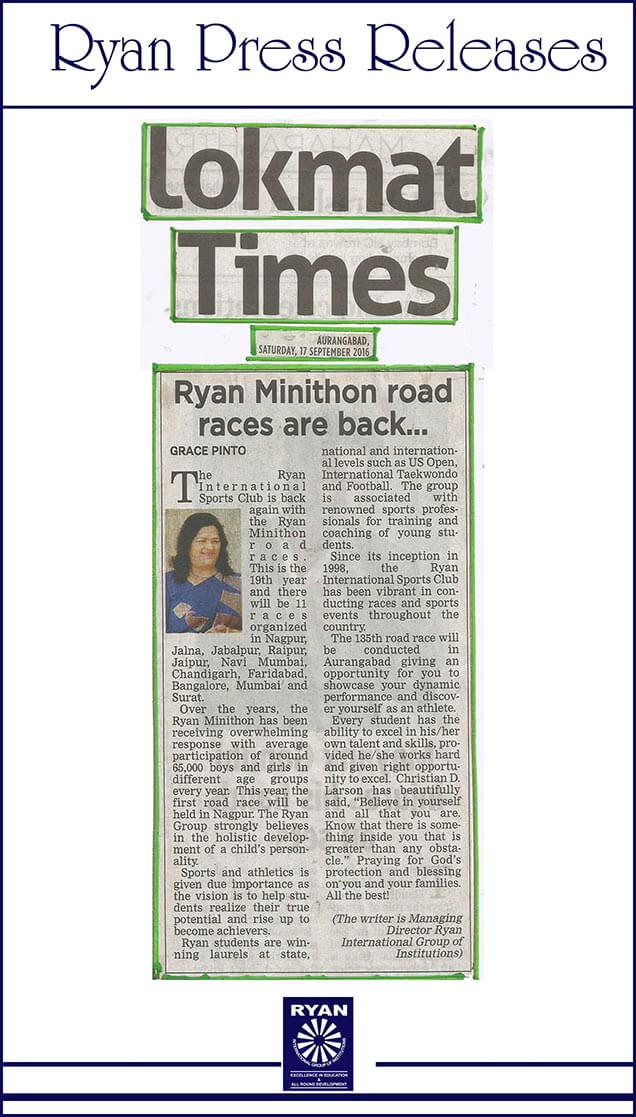 Ryan minithon road races are back