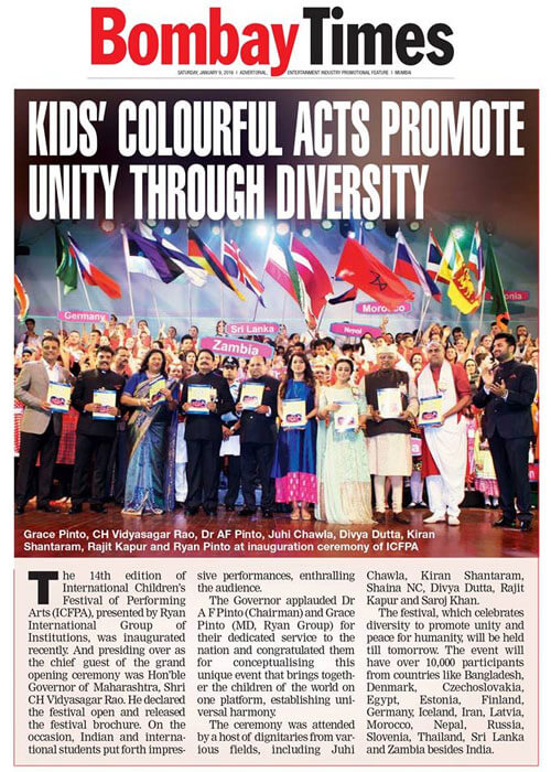 ICFPA 2016: BOMBAY TIMES