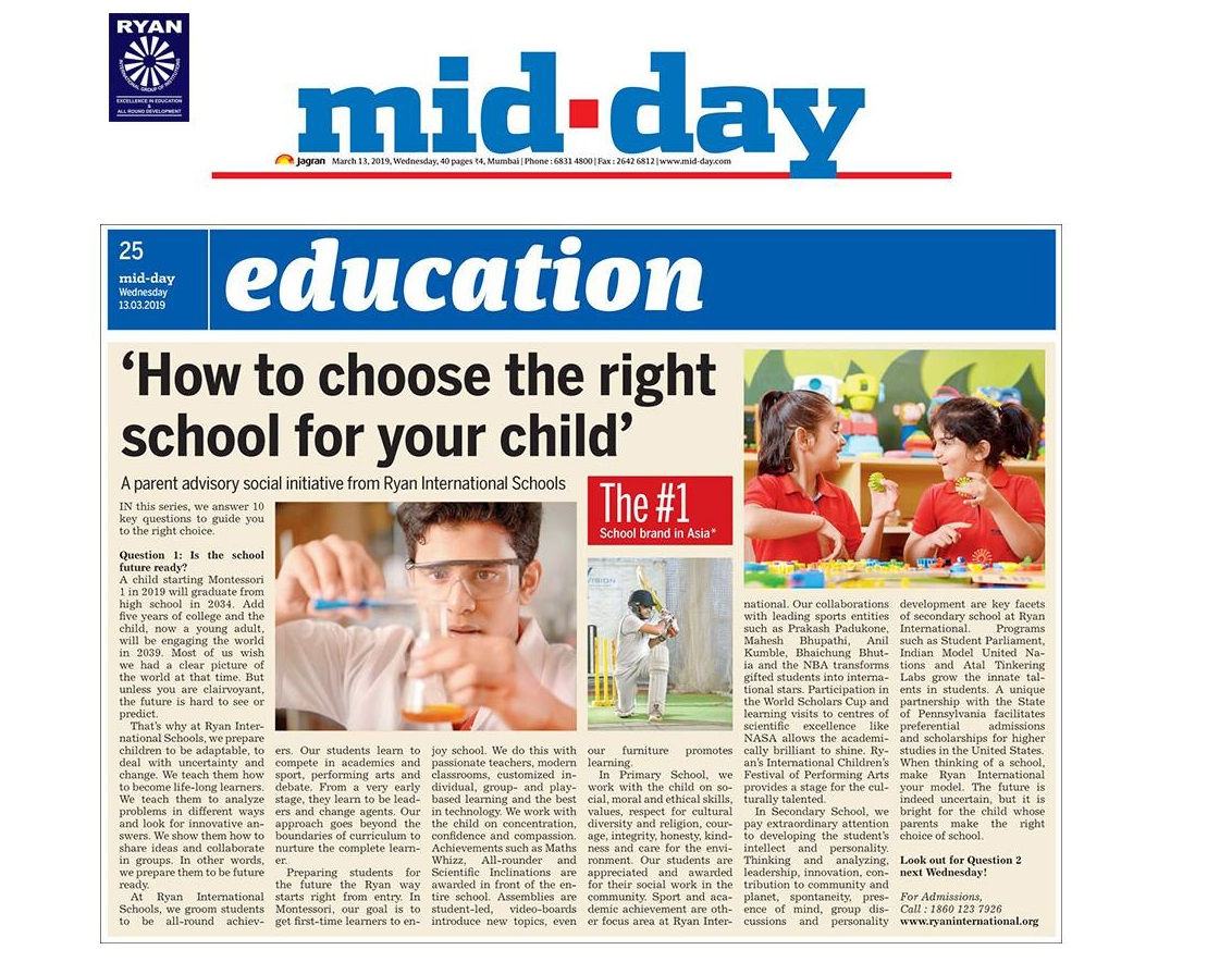 Article in Mid Day